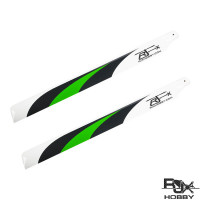 RJX Green 690mm Premium CF Blades-FBL Version (XL Version)