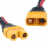 RJXHOBBY Amass AS150U Connector Anti Spark with Signal Pin with Short Silicone Wire Protective Cover (Female)